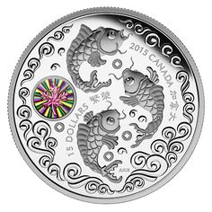 1 oz. Fine Silver Hologram Coin – Maple of Prosperity – Mintage: 8,888 (2015)