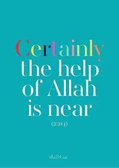 Allah is near