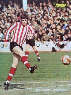 Mick Channon of Southampton in Southampton Football, Retro Football, My Youth, 1970s, Saints, England, Club, English, British