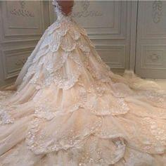 Wedding layer dress