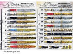 Lady Sheaffer Skripsert fountain pens.  what's not to love?