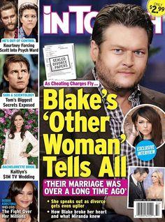 Blake Shelton's Mistress Cady Grove Tells All: Admits He's Her One True Love - Did She End His Marriage To Miranda Lambert?
