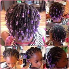 short hairstyles for kids twists braids and ponytails - Kid hair styles Lil Girl Hairstyles, Natural Hairstyles For Kids, Kids Braided Hairstyles, African Hairstyles, Cool Hairstyles, Natural Hair Styles, Short Hair Styles, Childrens Hairstyles, Toddler Hairstyles