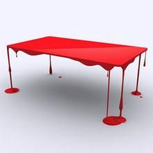This is my THIRD sighting of this table. We WILL have it for our home. And I want to pay the ARTIST who made it money...not make it ourselves.
