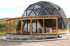 sdome — проекты Geodesic Dome Homes, Dome House, Unusual Homes, Earth Homes, Earthship, Round House, Glamping, Cabana, Interior Architecture