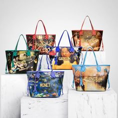 f23544ef6c32 Discover the second collaboration between french fashion house Louis Vuitton  and artist Jeff Koons - Masters II capsule collection.