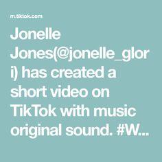 Jonelle Jones(@jonelle_glori) has created a short video on TikTok with music original sound. #WerkItFromHome #WIP #ConnieSpaulding #2021 Gabrielle Union, The Originals, Music, Musica, Musik, Muziek, Music Activities, Songs