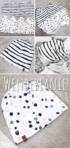 Great Totally Free Sewing gifts for him Ideas Wendebeanie nähen - Anleitung & Schnittmuster - Talu. Easy Knitting Projects, Sewing Projects For Beginners, Knitting For Beginners, Crochet Projects, Diy Projects, Sewing Hacks, Sewing Tutorials, Sewing Tips, Sewing Crafts