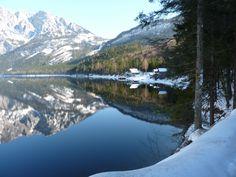 Reflections.Altausee, Austria