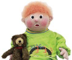 Ravelry: Wir stricken das Puppenbaby MICHEL pattern by Raphaela Blumenbunt