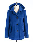 Hooded swing coat by Portrait! #lordandtaylor