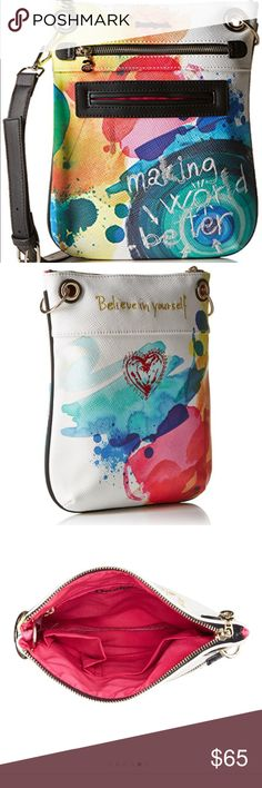 Desigual Bandolero Stroker Crossbody!! Awesome bag that I bought in Mexico  and only carried ce84760e92