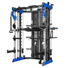 Force USA Black Friday Monster All-In-One Commercial Strength Training Machine - Blue. Homemade Gym Equipment, Home Gym Equipment, No Equipment Workout, Gym Rack, Full Body Training, Endurance Training, Strength Training, Suspension Trainer, Smith Machine