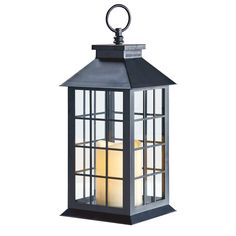 CrazyGadget® Battery Operated Window Lantern with Timer LED Candle Indoor Outdoor Flickering Amber Home Garden Door Traditional Light Lamp Led Candles, Candle Lanterns, Flickering Candle, Christmas Tree Store, Battery Operated Lanterns, Rustic Lanterns, Led Tea Lights, Metal Candle Holders, Traditional Lighting