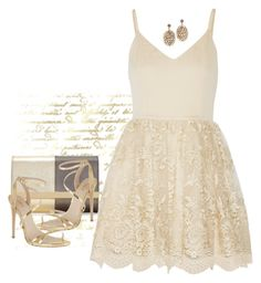 Prom Night by ritadolce on Polyvore featuring Alice + Olivia, Carvela and Fendi