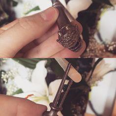 Cigarette holder #3dprinting #3djewelry #dragon #smoking #jewelry by dgcarpintero