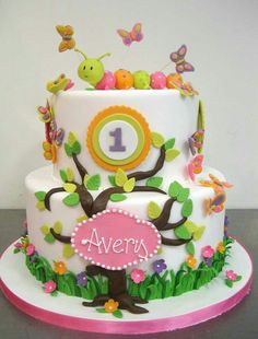 321 Best Cakes 1st Birthday Images In 2019 Fondant Cakes