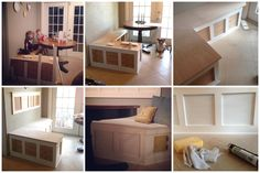 DIY Built in breakfast nook - This may be my first attempt at building something!!