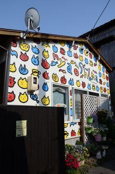 「Cat cafe」 Naoshima,Japan