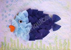 Mauriquices: Peixinho Azul!