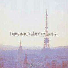 C'est vrai, mon cœur, c'est perdu à Paris