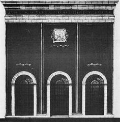 А. К. Буров. Фасад нового здания Дома архитектора в Москве. 1939—1940. Проект