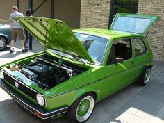 VW Golf with a 1.8Turbo Engine