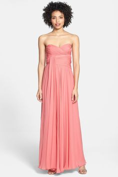 Upper bodice fit is really nice. In blue would be good, for good bridesmaid