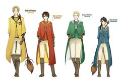The seekers of Hogwarts