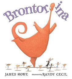 Brontorina  by James Howe, Randy Cecil