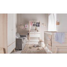 Table a Langer - Vox Cheap Nursery Furniture Sets, Rustic Nursery Furniture, Baby Bedroom Furniture, Nursery Furniture Collections, House Beds For Kids, Ikea Nursery, Cot Bedding, Decoration, Scandinavian Nursery