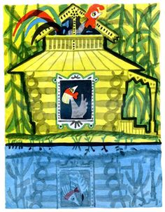 Mai Miturich II (the art room plant) Animal House, Book Illustration, Poultry, Illustrators, Fairy Tales, Christmas Ornaments, Holiday Decor, Plants, Books