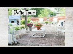 Happy At Home: Patio Tour | Gravel Patio