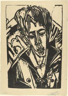 Ernst Ludwig Kirchner (German, 1880–1938) Head of Hardt's Son (Kopf Sohn Hardt)