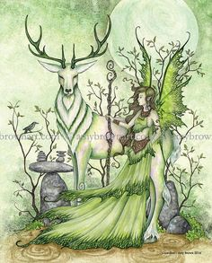 Guardian fairy 8X10 PRINT by Amy Brown