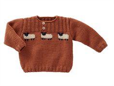 Children'S Owl Sweater Pattern 64