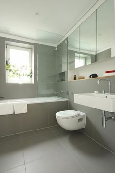 clean minimal washroom  Luxurious Home in London Holland Park