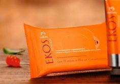 Cuidado refrescante, ideal para os dias quentes. Folhas Perfumadas Pitanga Ekos - 15und (COD. PROD. 37921) AQUI TEM PROMOÇÃO de R$ 11,80 por R$ 9,90