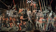Paolo Uccello Poster - The Battle Of Romano