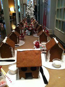 Gingerbread house Decorating Party / Gingerbread House #gingerbread #christmas