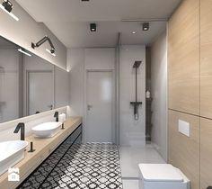 Amazing dom jednorodzinny w Ozimku rednia azienka styl nowoczesny zdj cie od A STUDIO pracownia