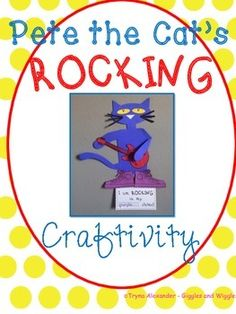 LIBRARIES ROCK! A fun activity to do along with Pete the Cat: Rocking in my School Shoes.
