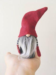 Scandinavian TINY gnome pattern by NORDIKatja do it