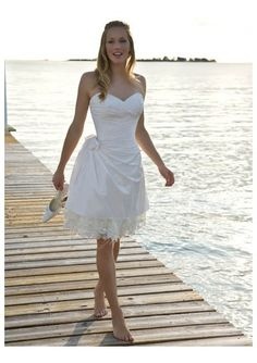 Google Image Result for http://sangmaestro.com/wp-content/uploads/2010/11/short-knee-length-beach-wedding-dresses.jpg, idea of maid of honor dress in a different color