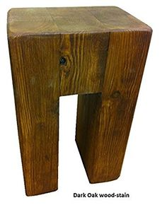 U0027nu0027 Shaped Pine Lamp Stand Table @ 50cm Tall   Coffee Stand, Speaker