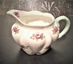 "Creamer -Beautiful Vintage Shelley in ""Rosebud"" Pattern Bone China Selling On Ebay, Rose Buds, Bone China, Bones, Plant, Pattern, Beautiful, Vintage, Patterns"