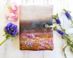 Portefeuille bohème pochette tissu fleurs par ruedesouvenirs