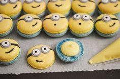 DIY Macarons minions mignons personnalisés