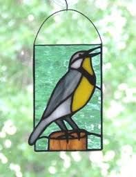 Image result for meadowlark stained glass
