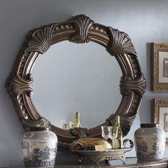 Monte Carlo II Round Dresser Mirror